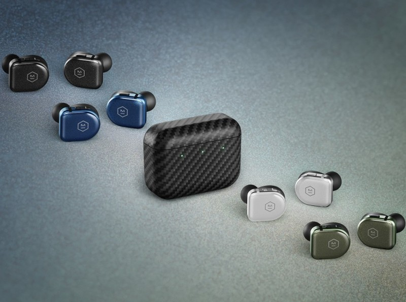 Master & Dynamic's new $349 MW08 Sport earbuds tout a sapphire glass body