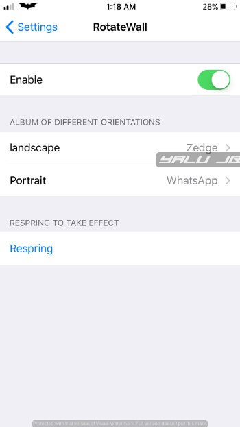 RotateWall – How To Download And Install RotateWall Cycle wallpapers for iOS in 2018