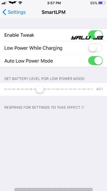 SmartLPM Cydia Tweak- How To Download and Install SmartLPM Intelligent Low Power Mode for iPhone