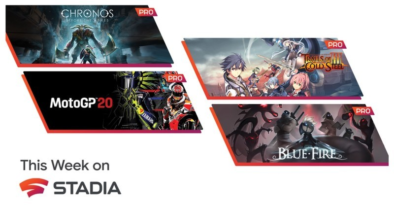 Stadia reveals June's free games for Pro subscribers, including Blue Fire
