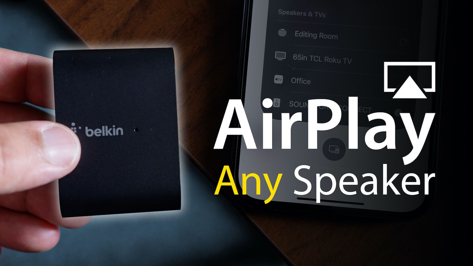 Video: Belkin's Soundform Connect Adds AirPlay 2 to Your Existing Speakers