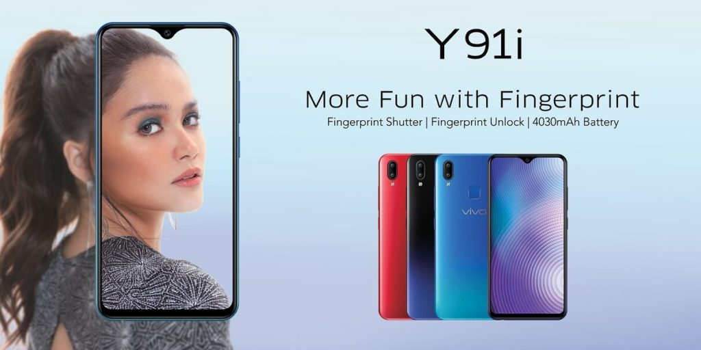 Vivo Y91i with 3GB RAM and 32GB storage launched
